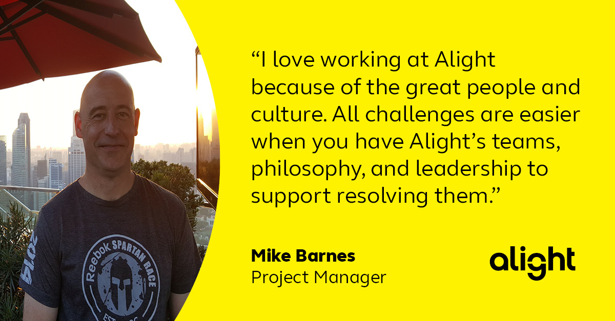 Colleague testimonial - Mike Barnes