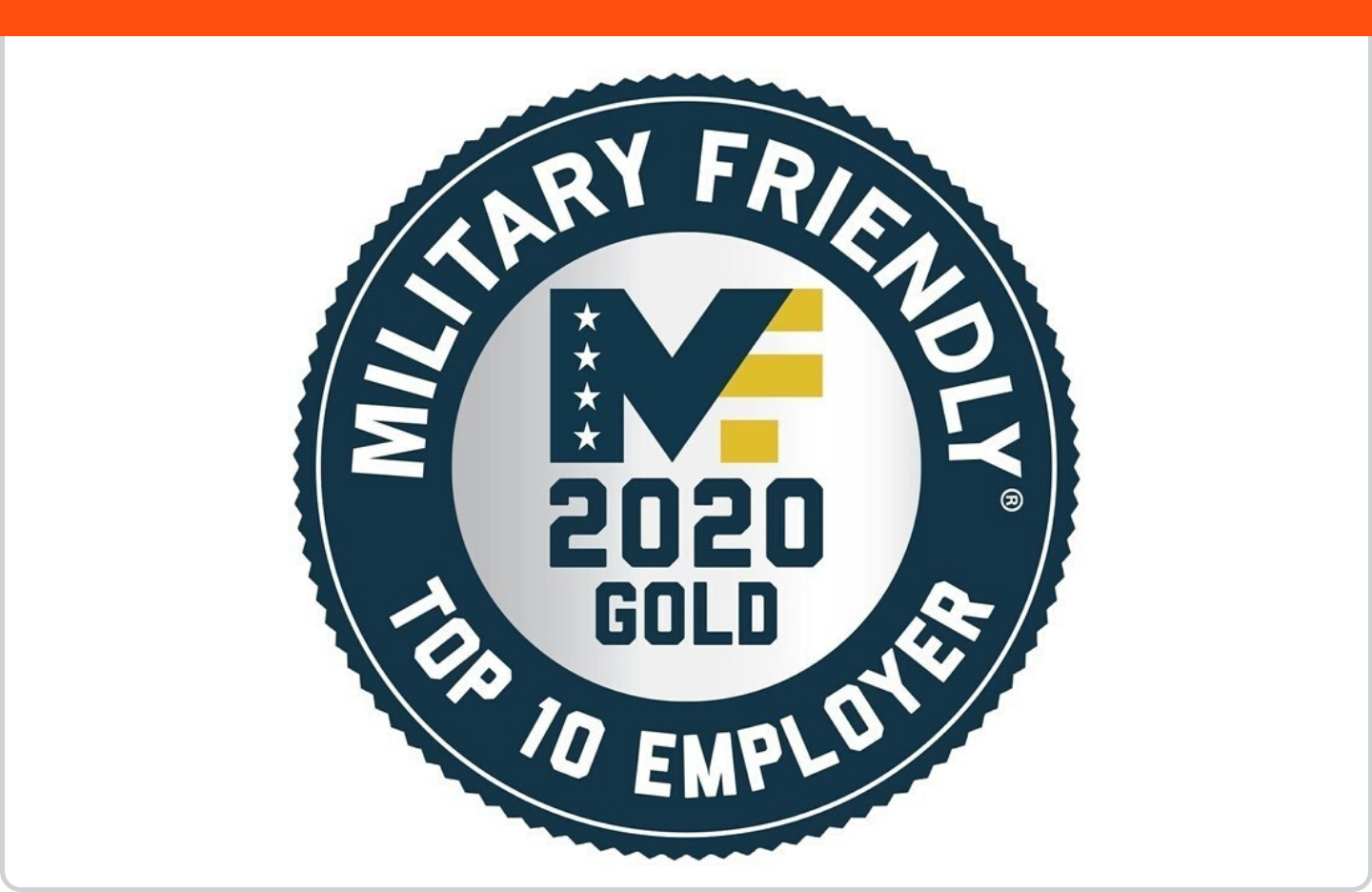 Military Friendly Company 2019 Award