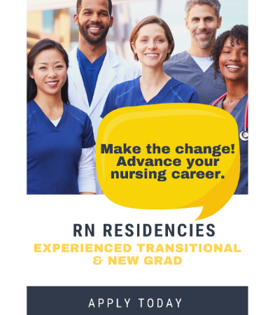 RN New grad & transitional training