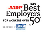 AARP 2013 Best Employers for Workers over 50
