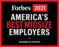 Forbes 2021 America's Best Midsize Employers
