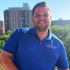 Employee Travis Kirton.