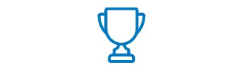 An icon of trophy.