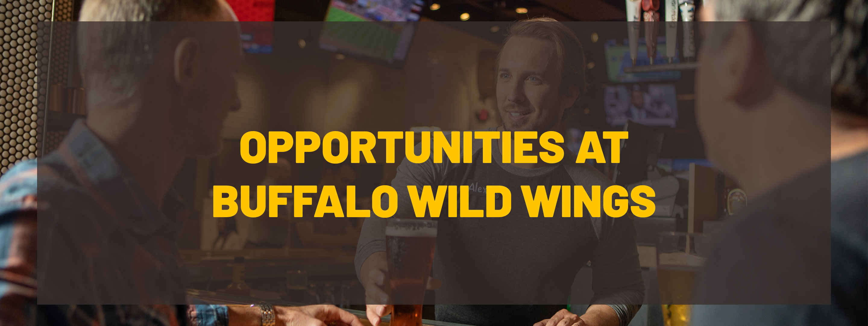 Search Results Find The Available Job Openings At Buffalo Wild Wings