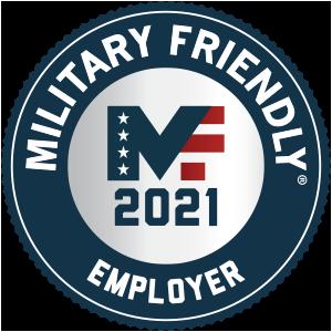 Military Friendly Employer award