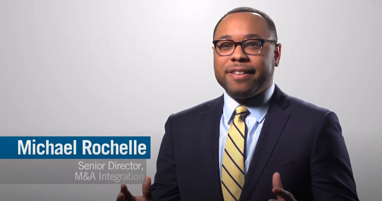 Executive Immersion Program Employee Michael Rochelle