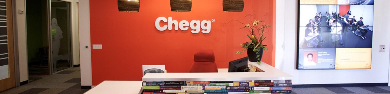 Chegg Careers Banner