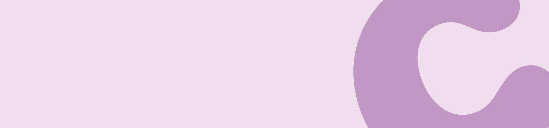 Pink banner image