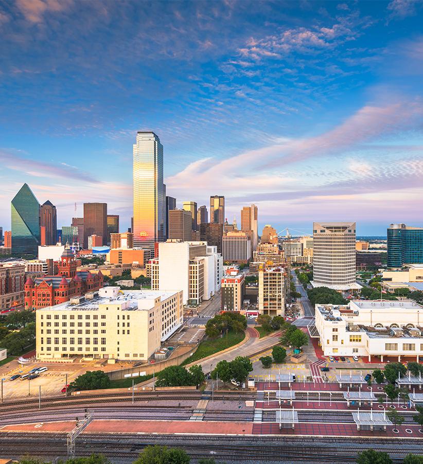 Richardson, TX skyline