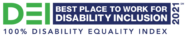 Best place to work for disability inclusion 2021