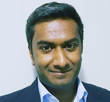 Krishna R. headshot