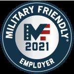 Military friendly employer 2021 Award