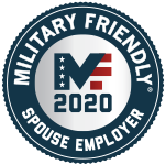 Military friendly spouse employer 2020 Award