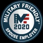Military friendly spouse employer 2020 Award