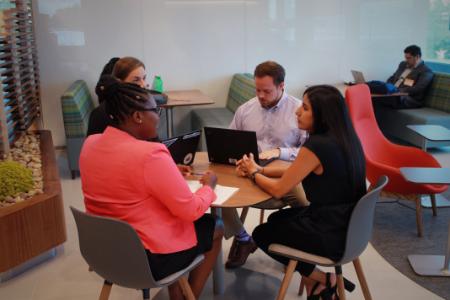 Express Scripts intern meeting
