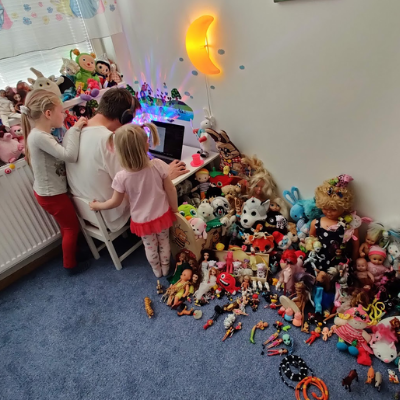 Children's playroom & work from home office in Prague