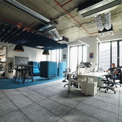 Citrix Prague employee working inside the office