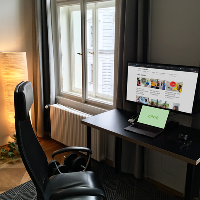 Work from home in Prague