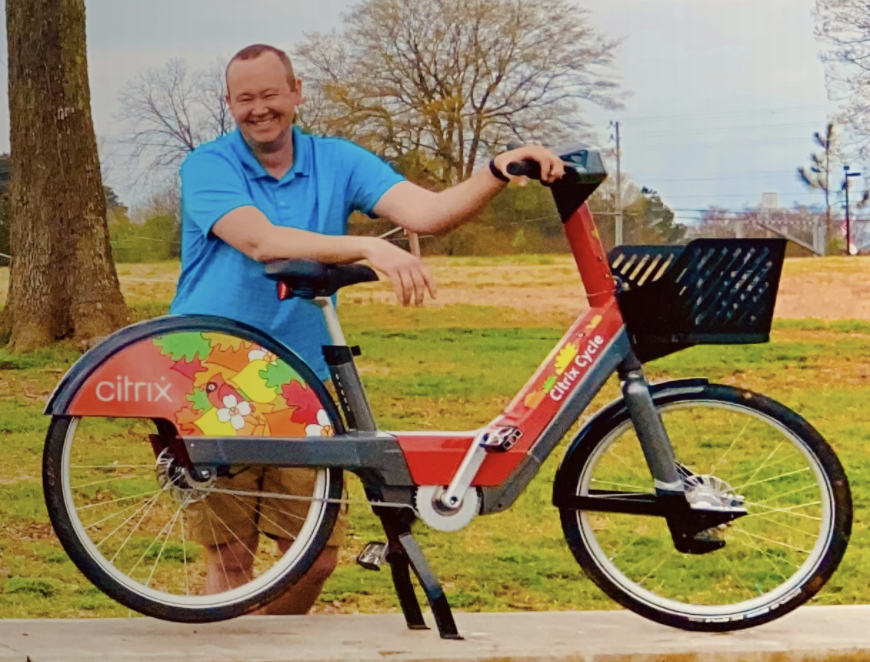 Hop on the Raleigh Citrix Cycle