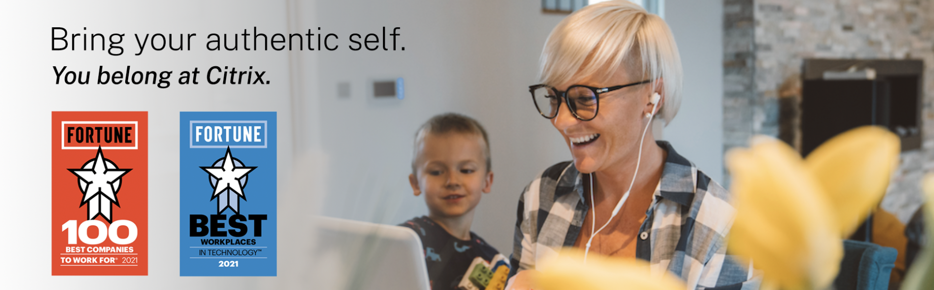 Bring your authentic self. You belong at Citrix.