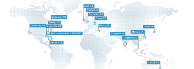 Map of Citrix Locations
