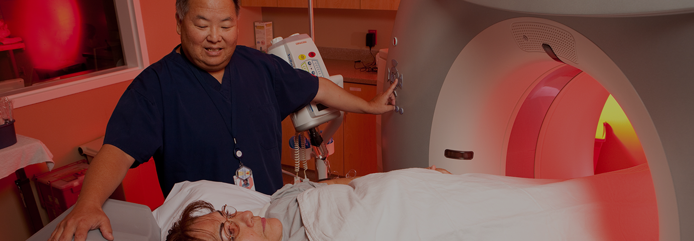 Medical imaging category desktop banner