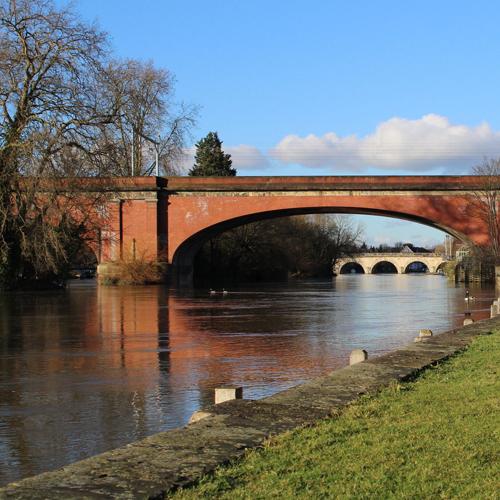Bridge in Maidenhead, UK