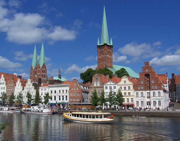 Photograph of Lübeck