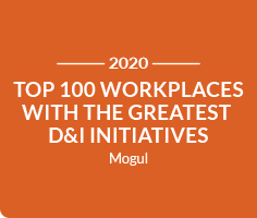 Mogul Top 100 Workplaces with the Greatest D&I Initiatives