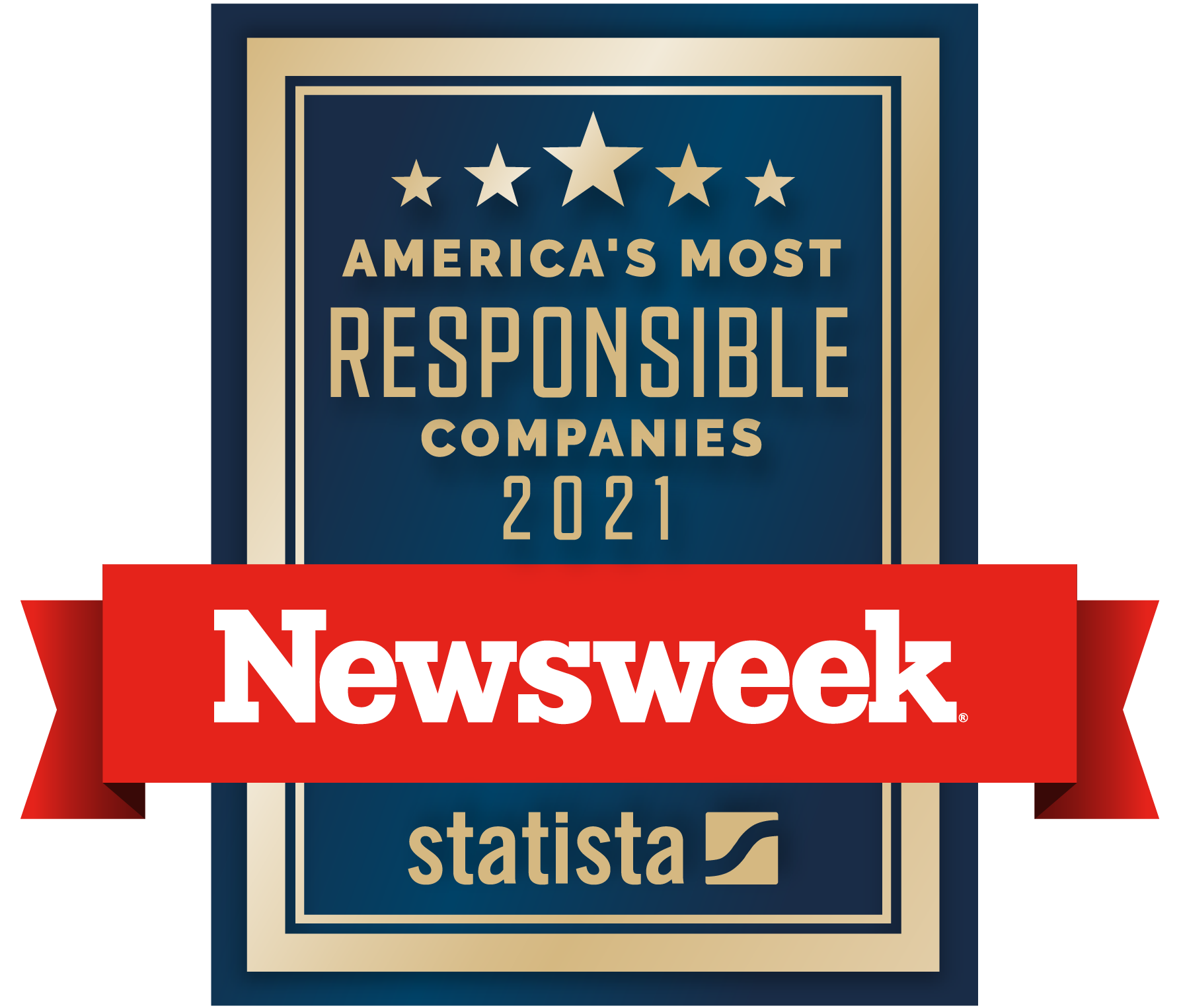 Newsweek America's Most Responsible Companies 2021
