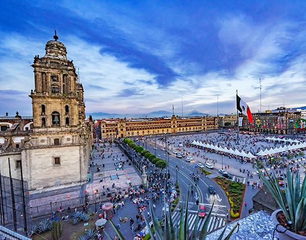Photo of Latin American city