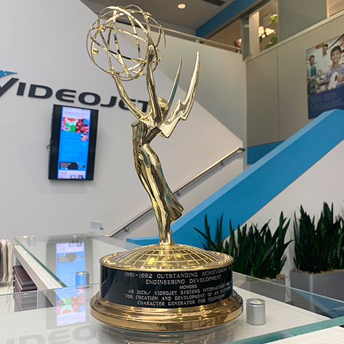 Photograph of Emmy Award