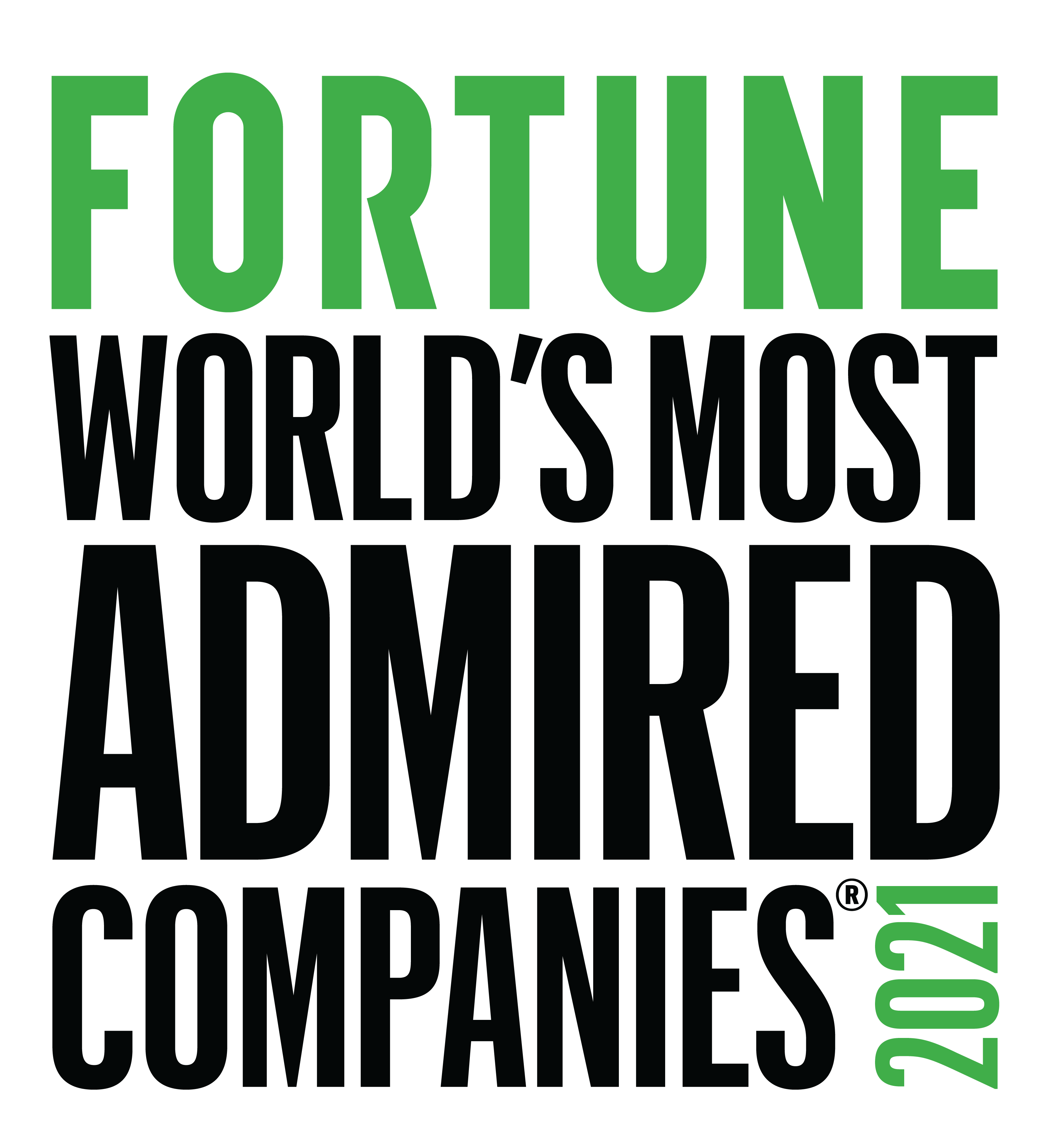 Fortune World's Most Admired Companies 2020