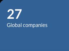 27 Global companies