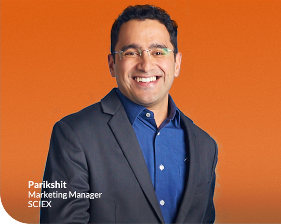 Parikshit Marketing Manager SCIEX