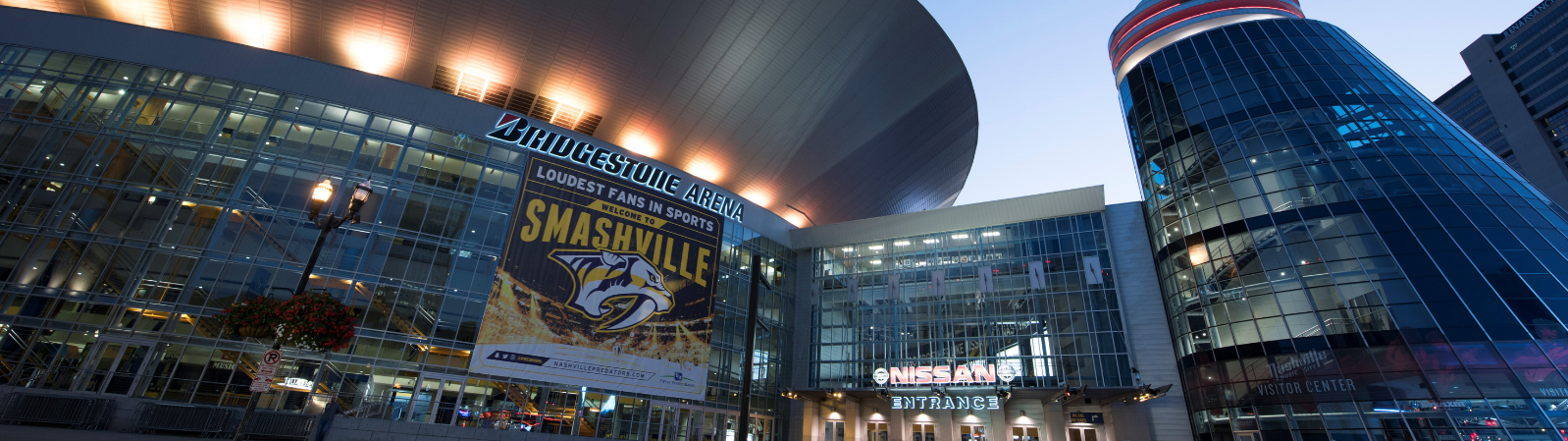 Bridgestone Arena, in Nashville TN