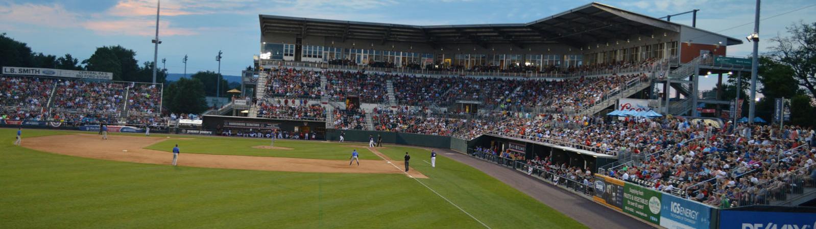 FNB Field, in Harrisburg PA