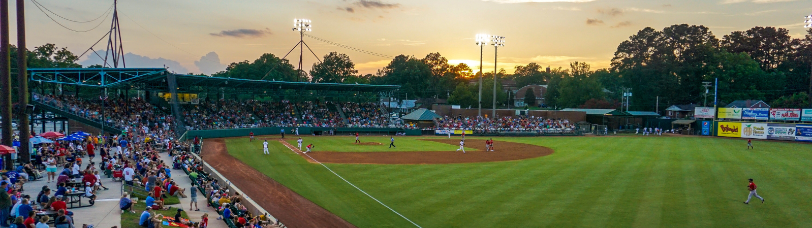 Grainer Stadium, in Kinston, NC