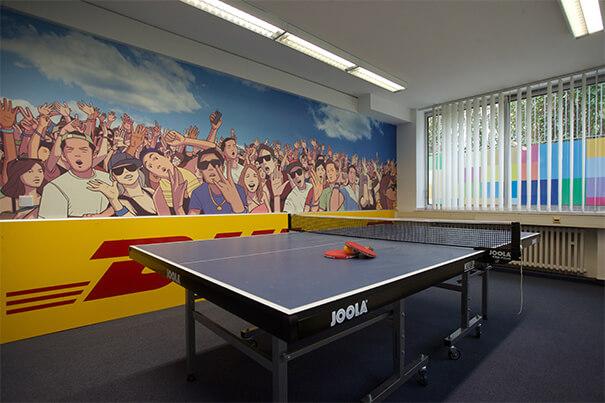 Bonn tennis table