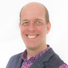 Photograph of Hans de Jong
