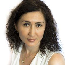 Photograph of Oksana Ajzensjtark
