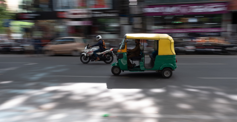 Indian 'auto rickshaw'