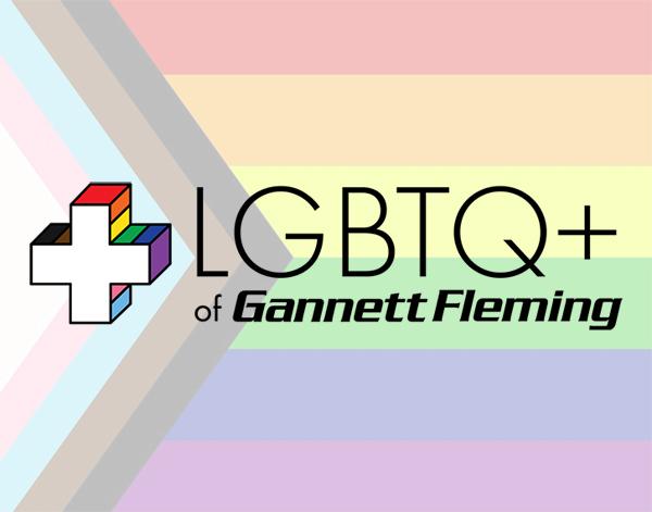 LGBTQ+ of Gannett Fleming Logo