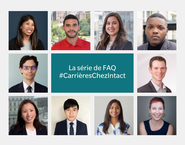 La série de FAQ Carrières Chez Intact