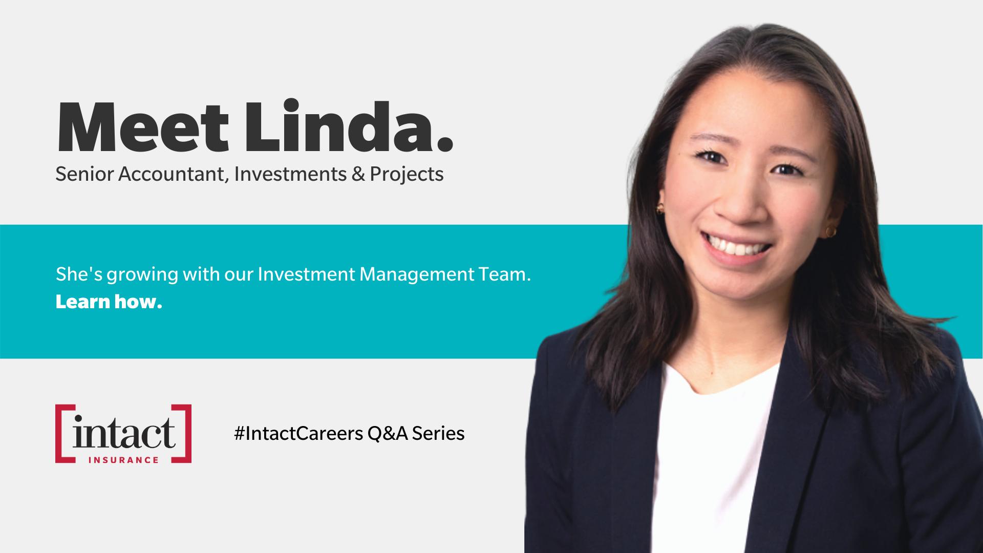 Meet Linda - Intact Careers Q&A Series