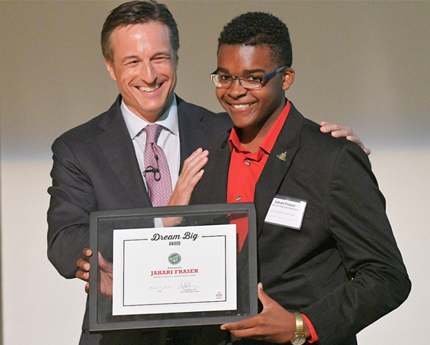 First Arby's Foundation Scholarship Recipient Dreams Big image