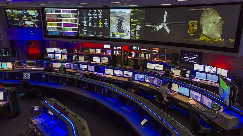 NASA JPL Mission Control