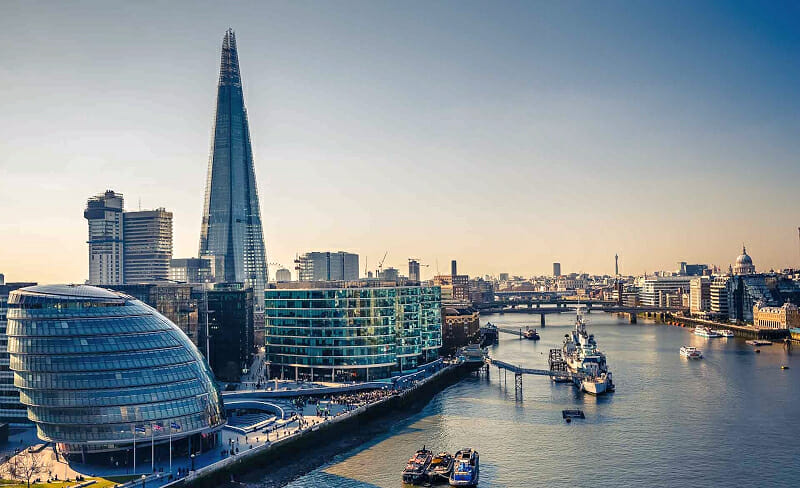 Connecting with London's business, finance and political communities
