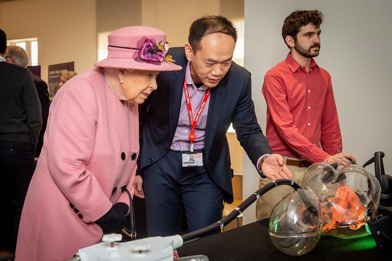 Royal visit to Bush House
