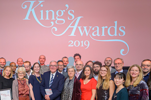 people posing for a photo at King's Awards 2019